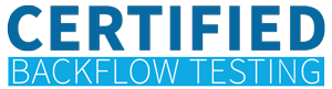 Certified Backflow Testing Logo